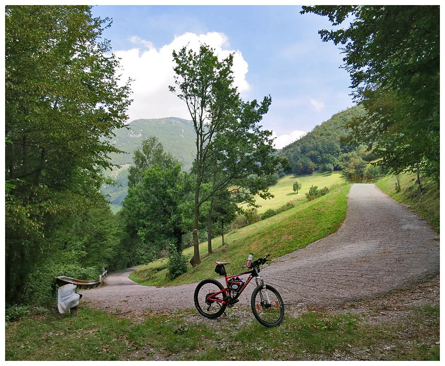 Lombardia in bici: Lago d'Iseo - salita da Sarnico al Corno Buco