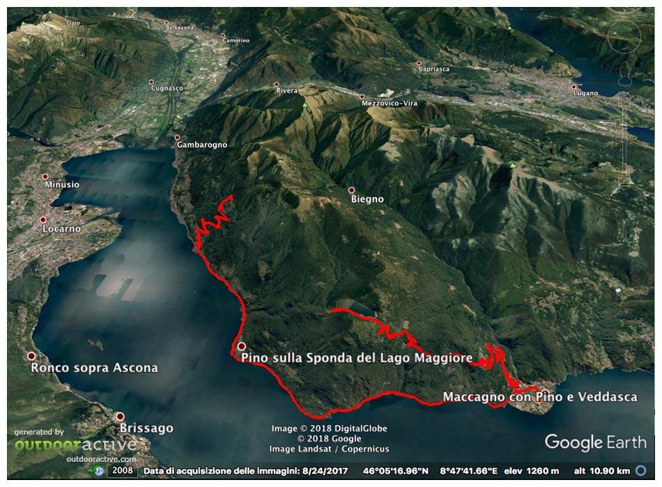Cartina Lago Maggiore Stradale.Lombardia In Bici Lago Maggiore Salite Al Pianascio Elago Delio Report 362