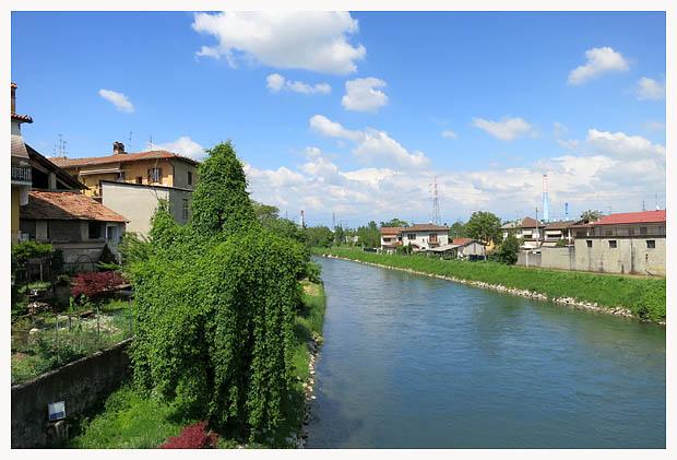 Lombardia in bici canale muzza da albignano a paullo for Camino sul ponte rialzato
