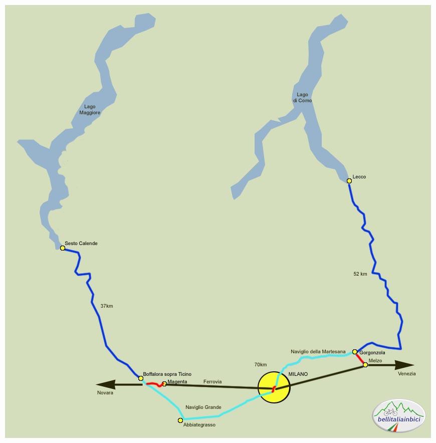 Cartina Piste Ciclabili Olanda.In Ciclabile Da Melzo A Boffalora Sopra Il Ticino E Ritorno In Treno Bici
