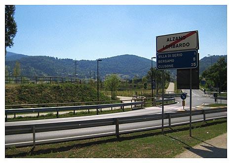 Lombardia in bici ciclovia della valle seriana report 34 - Alzano lombardo piscina ...