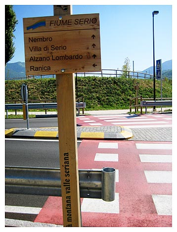 Lombardia in bici ciclovia della valle seriana report 34 - Piscina alzano lombardo ...